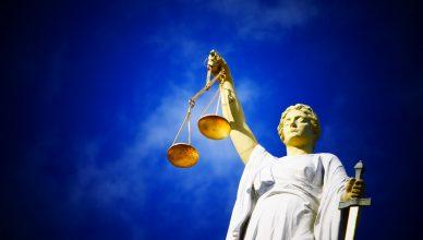 Vrouwe Justitia rechtvaardigheid rechtspraak familierecht